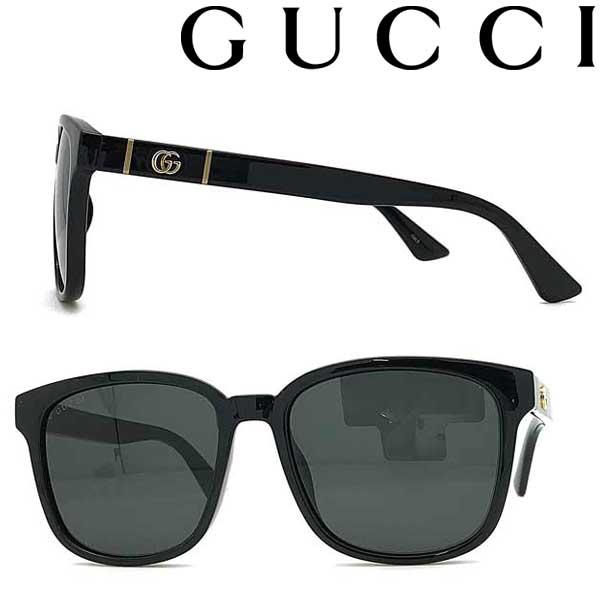 GUCCI サングラス グッチ メンズ&レディース ブラック GUC-GG-0637S-001 ブランド