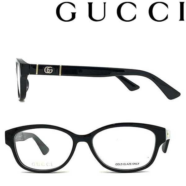 GUCCI メガネフレーム グッチ メンズ&レディース ブラック 眼鏡 GUC-GG-0639OA-001 ブランド