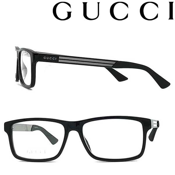 GUCCI メガネフレーム グッチ メンズ&レディース ブラック 眼鏡 GUC-GG-0692O-001 ブランド