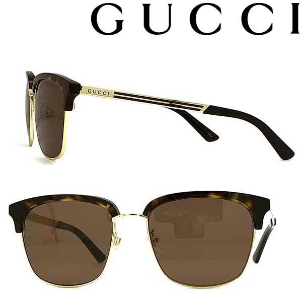 GUCCI サングラス グッチ メンズ&レディース ブラウン GUC-GG-0697S-002 ブランド