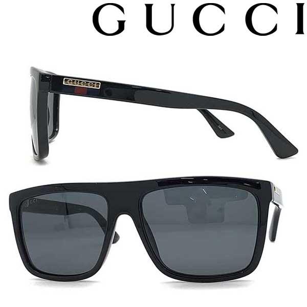 GUCCI サングラス グッチ メンズ&レディース ブラック GUC-GG-0748S-001 ブランド