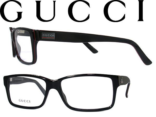 58b35bfa8d6d GUCCI glasses eyeglasses frame Gucci glasses black x red x branded mens    ladies   men GUC-GG-1625-GTW green for   woman sex for and degrees with ITA  ...
