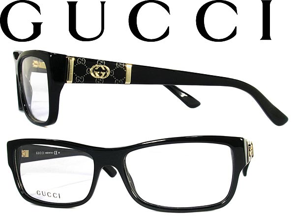 715bfa464dd3 woodnet: Frame of glasses Gucci GUCCI eyeglasses glasses black x champagne  gold GUC-GG-3133-807 branded/mens & ladies / men for & woman of for  and ...