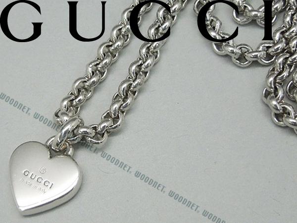 供供GUCCI心項鏈銀子古馳配飾YBB356225-0010名牌/人&女士/男性使用的&女性使用