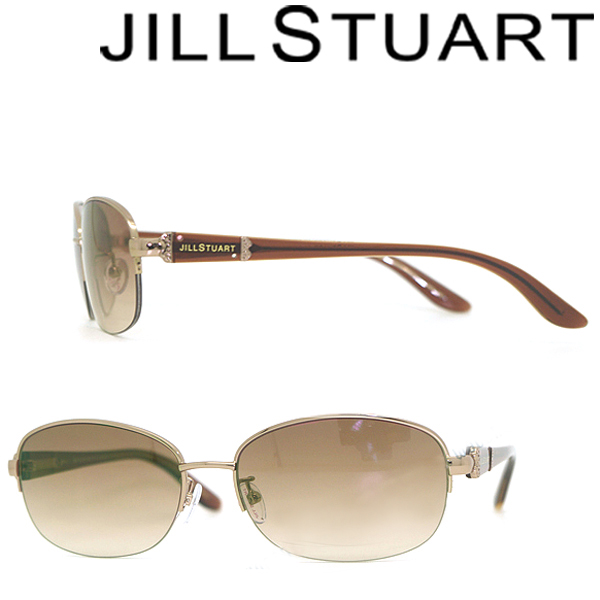 JILL STUART ジルスチュアート グラデーションブラウン サングラス JS-06-0493-03 ブランド/レディース/女性用/紫外線UVカットレンズ/ドライブ/釣り/アウトドア/おしゃれ