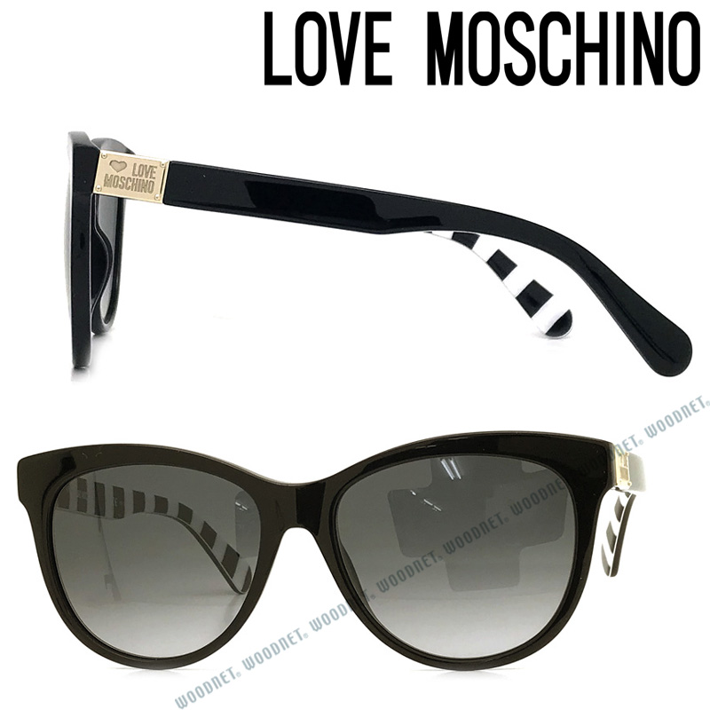 LOVE MOSCHINO サングラス ラブモスキーノ メンズ&レディース グラデーションブラック MOL-001-807-9O ブランド