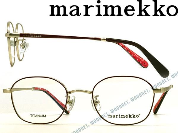 marimekko マリメッコ ブラッシュライトゴールド メガネフレーム 眼鏡 MA-32-0017-02 ブランド/レディース/女性用/度付き・伊達・老眼鏡・カラー・パソコン用PCメガネレンズ交換対応/レンズ交換は6,800円~