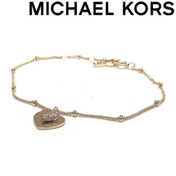 MICHAEL KORS ブレスレット マイケルコース レディース ハート型ゴールドブレスレット MKC1118AN710 ブランド