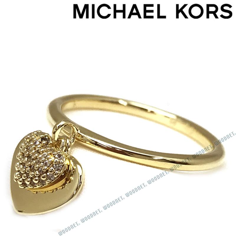 MICHAEL KORS 指輪 マイケルコース レディース ハート デュオ ゴールド リング MKC1121AN710 ブランド