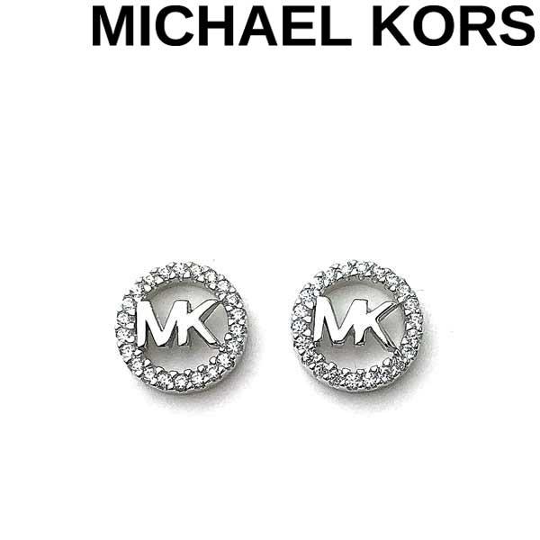 MICHAEL KORS ピアス マイケルコース レディース ロゴ シルバー MKC1247AN040 ブランド
