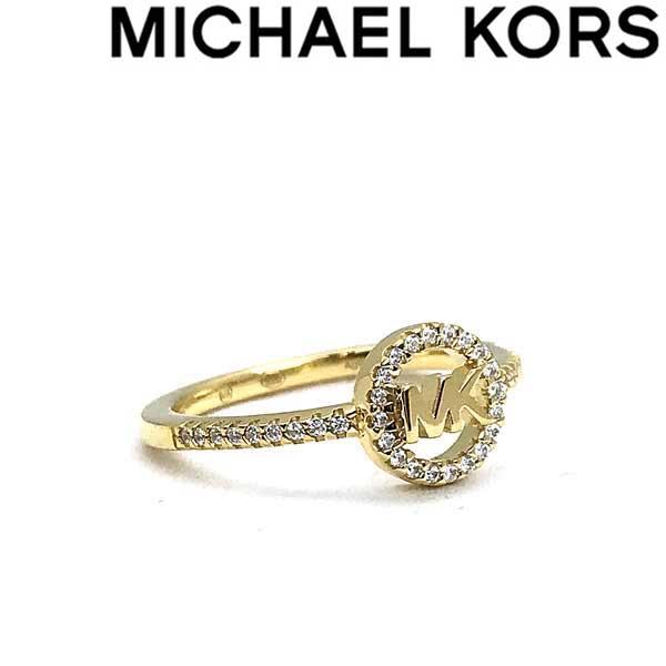 MICHAEL KORS 指輪 マイケルコース レディース ロゴ ゴールド リング MKC1250AN710 ブランド