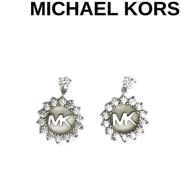 MICHAEL KORS ピアス マイケルコース レディース ロゴ シルバー MKC1254AN040 ブランド