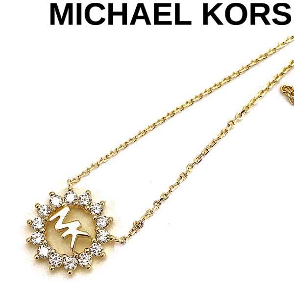 MICHAEL KORS ネックレス マイケルコース レディース ロゴ ゴールド MKC1255AN710 ブランド