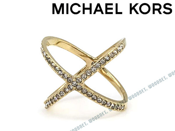 MICHAEL KORS 指輪 マイケルコース レディース ゴールド リング MKJ4171710 ブランド
