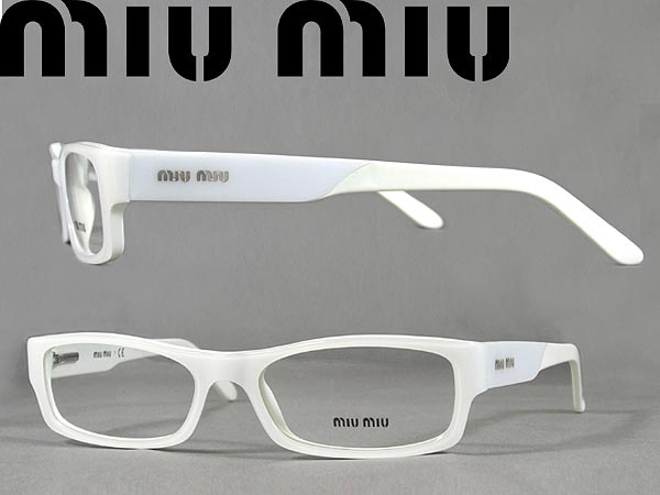 56574488bc6 woodnet  Glasses Miu Miu eyeglass frames spectacles miu miu white  0MU-17FV-7SO1O1 branded mens  amp  ladies   men for  amp  girls of for    degrees with ITA ...