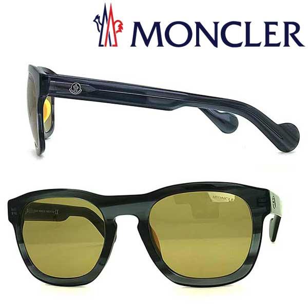 MONCLER サングラス モンクレール メンズ&レディース ブラウン ML-0093-92J ブランド