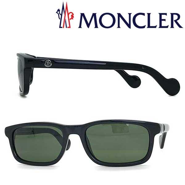 MONCLER サングラス モンクレール メンズ&レディース ブラック ML-0116-01N ブランド