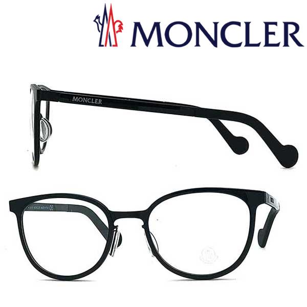 MONCLER メガネフレーム モンクレール メンズ&レディース ブラック×マットブラック ML-5034-001 ブランド