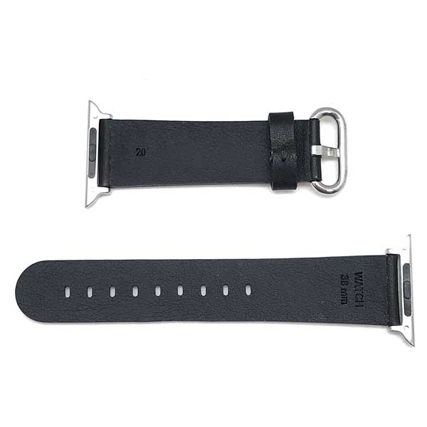 MORELLATO 腕時計ベルト モレラ—ト メンズ&レディース カーフレザー アップルウォッチ38mm専用 ブラック D4739-A-STRAP-CASSA-B50-019-20 ブランド