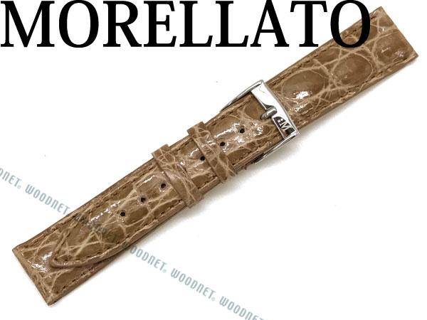 MORELLATO モレラ―ト TRACY トレイシー クロコダイルレザー 腕時計ベルト クレイ X2197-TRACY-052-029 ブランド/メンズ&レディース/男性用&女性用