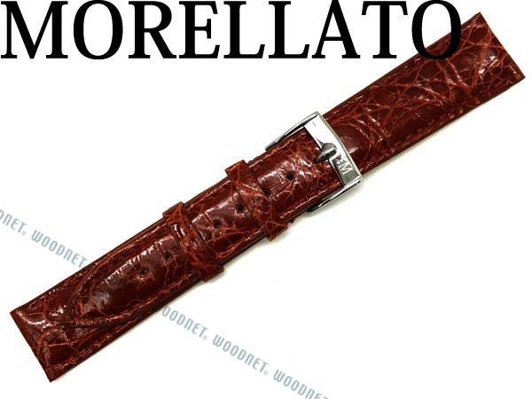 MORELLATO モレラ―ト TRACY トレイシー クロコダイルレザー 腕時計ベルト ゴールドブラウン X2197-TRACY-052-041 ブランド/メンズ&レディース/男性用&女性用