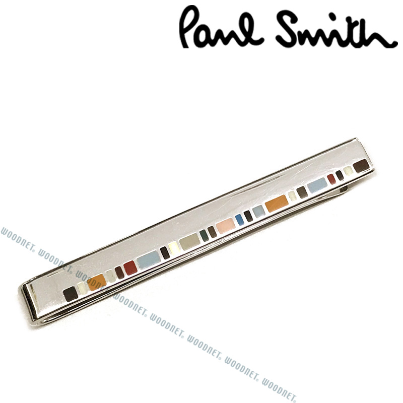 Paul Smith ネクタイピン ポールスミス メンズ シルバー×マルチストライプ M1ATPIN-AFINER92 ブランド ビジネス