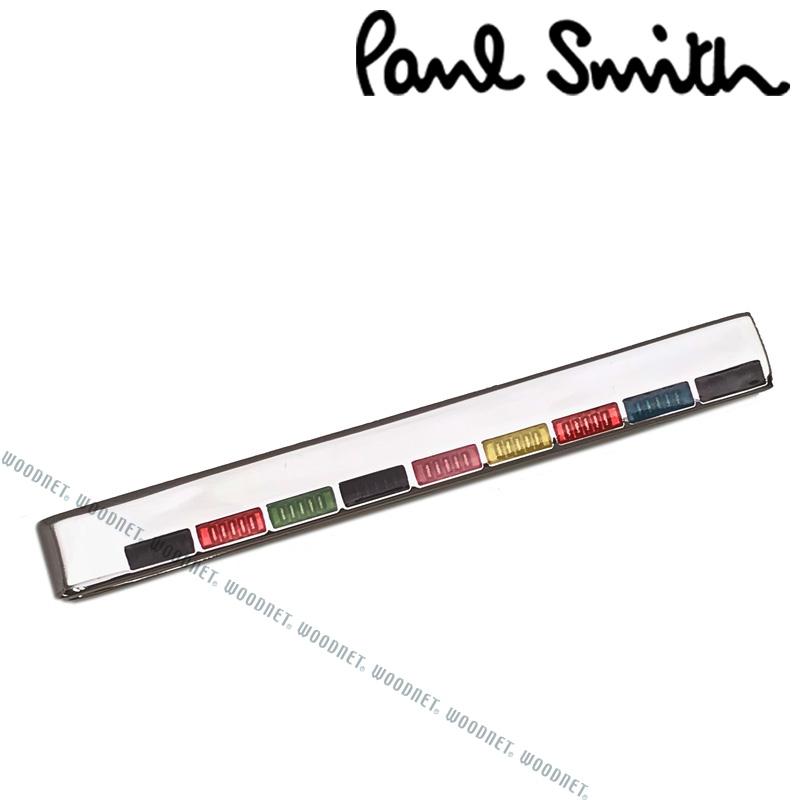 Paul Smith ネクタイピン ポールスミス メンズ シルバー×マルチストライプ M1ATPIN-AFINER96 ブランド