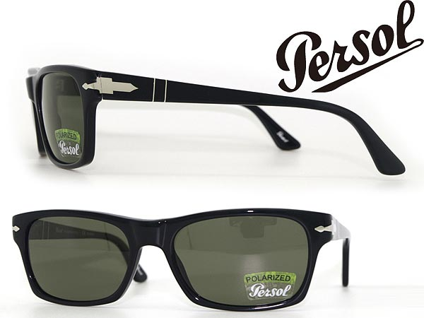 7e895f14301 Sunglasses persol black polarized lens Persol 0PO-3037-9558 branded mens   amp  ladies   men for  amp  woman sex for and ultraviolet UV kathrens    drive ...