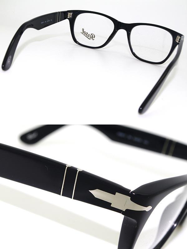 woodnet: Glasses Persol black x silver persol glasses frames glasses ...