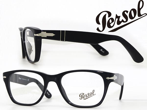 50ab6fa07c Glasses Persol black x silver persol glasses frames glasses 0PO-3039-95  branded mens  amp  ladies   men for  amp  woman sex for and once with ITA  reading ...