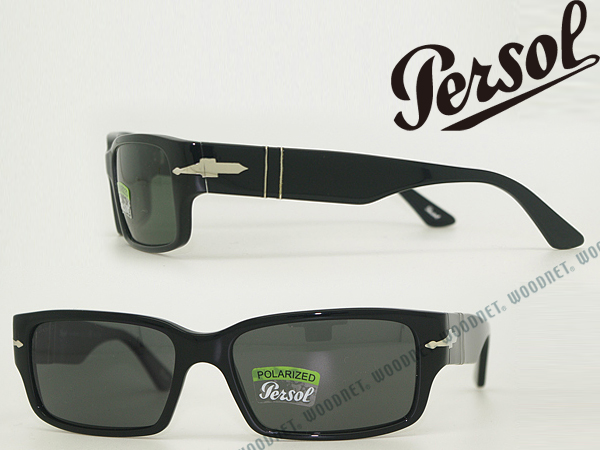 7199472aa47 Persol sunglasses persol black polarized lenses 0PO-3087-95-58 branded mens    ladies   men for   woman sex for   UV UV kathrens   drive   fishing    outdoors ...