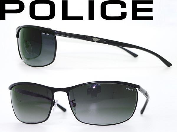 그라데이션 블랙 선글라스 폴리스 POLICE Police-S8647-0531 브랜드/남성 및 여성용/남성용 및 여성용/자외선 UV 컷 렌즈/드라이브/낚시/아웃 도어/유행/패션