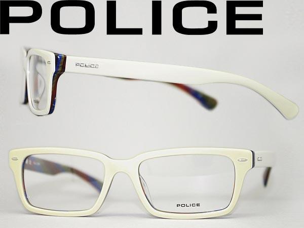 glasses police off white square police glasses frames glasses police v1740 06ls - White Frame Glasses