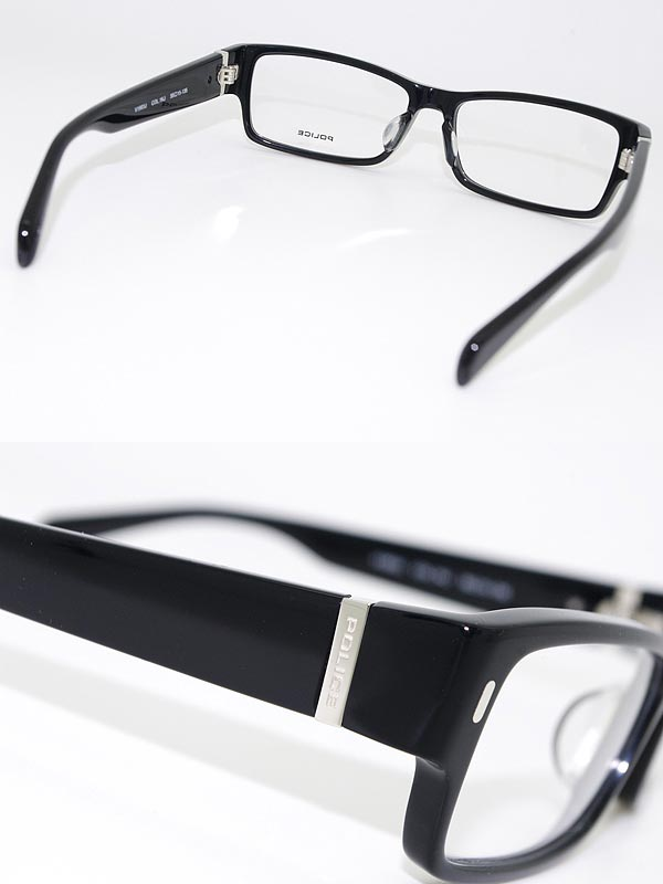 80e48a3b68e POLICE glasses frames black square type police eyeglasses glasses POLICE-V1903J-01KJ  branded mens  amp  ladies   men for  amp  woman sex for and once with ...