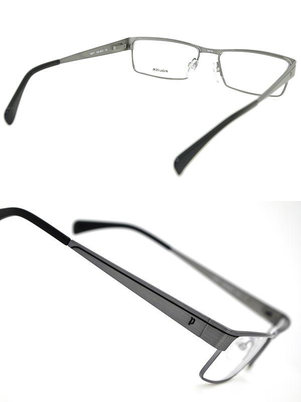 眼鏡框架員警銀員警眼鏡眼鏡員警-V8371-0 K 33 WN045 品牌/男士與女士們 / 男子 & 女孩的 / 度與 ITA 閱讀眼鏡顏色為 PC PC 鏡片鏡頭更換 / 鏡頭更換是 6800 日元 ~