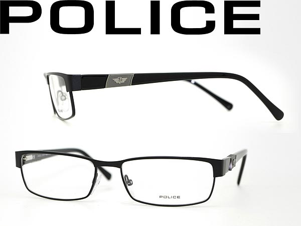 woodnet | Rakuten Global Market: Police glasses frames black POLICE ...