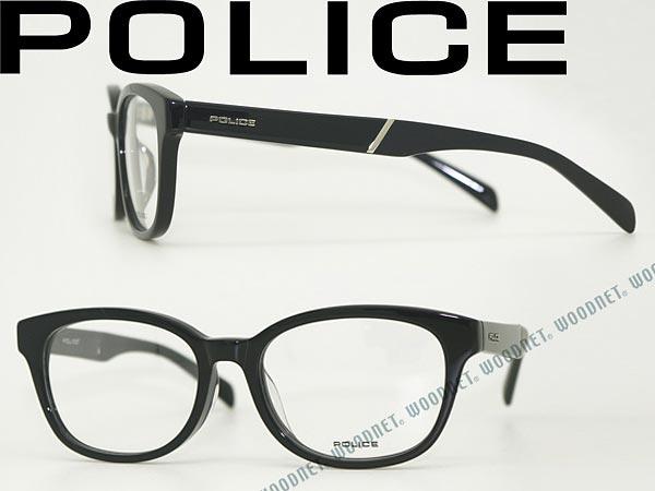 POLICE ポリス メガネフレーム ブラック 眼鏡 めがね POLICE-VPL240J-01KL ブランド/メンズ&レディース/男性用&女性用/度付き・伊達・老眼鏡・カラー・パソコン用PCメガネレンズ交換対応