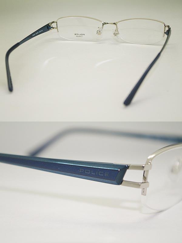 POLICE ポリス パラジウム メガネフレーム  眼鏡 めがね POLICE-VPL420J-0579 ブランド/メンズ&レディース/男性用&女性用/度付き・伊達・老眼鏡・カラー・パソコン用PCメガネレンズ交換対応