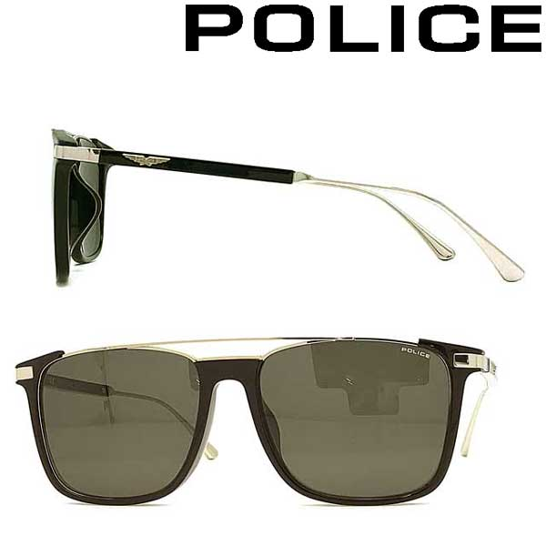POLICE サングラス ポリス メンズ&レディース スモーク 浦和レッズ槙野選手 着用モデル POLICE-SPLA37J-0700 ブランド
