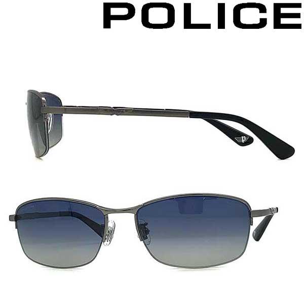 POLICE サングラス ポリス メンズ&レディース ネイビーグラデーション ≪偏光レンズ≫ POLICE-SPLA61J-568P ブランド