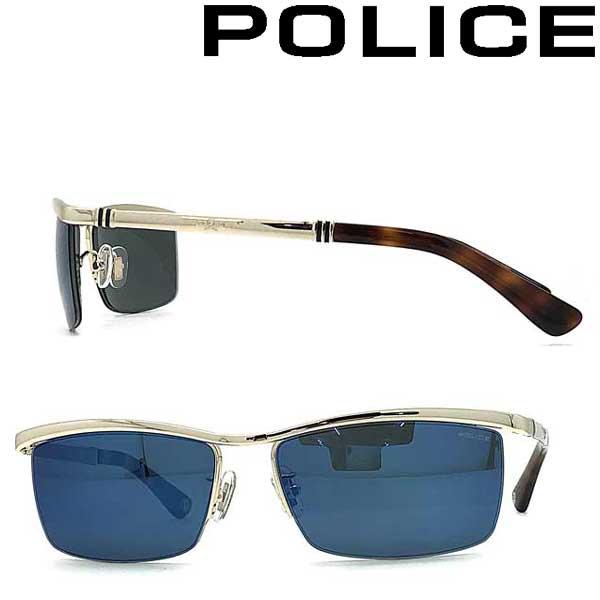 POLICE サングラス ポリス メンズ&レディース ブルーミラー POLICE-SPLA62J-300B ブランド
