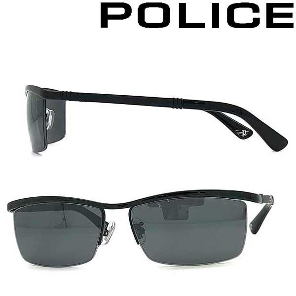 POLICE サングラス ポリス メンズ&レディース ブラックミラー POLICE-SPLA62J-530M ブランド