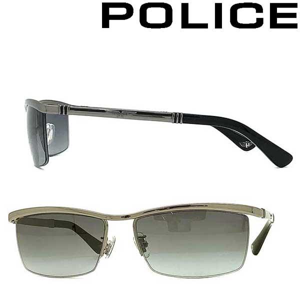 POLICE サングラス ポリス メンズ&レディース ライトグレーグラデーション POLICE-SPLA62J-568N ブランド