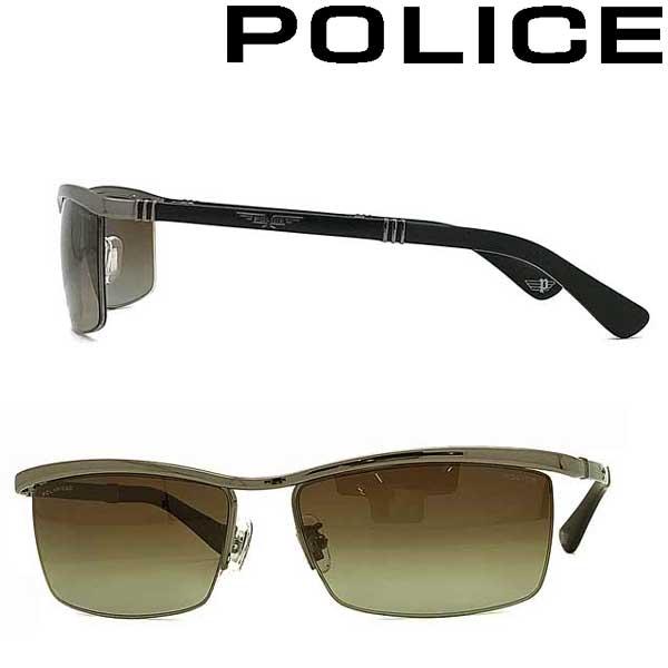 POLICE サングラス ポリス メンズ&レディース ブラウングラデーション ≪偏光レンズ≫ POLICE-SPLA62J-568P ブランド