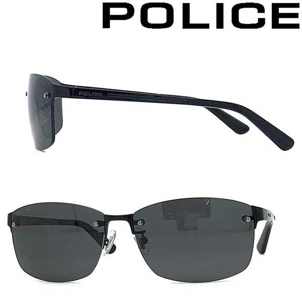 POLICE サングラス ポリス メンズ&レディース グレー ≪偏光レンズ≫ POLICE-SPLA63J-530P ブランド