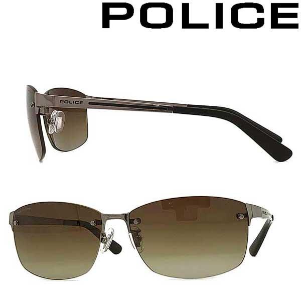 POLICE サングラス ポリス メンズ&レディース ブラウングラデーション ≪偏光レンズ≫ POLICE-SPLA63J-568P ブランド