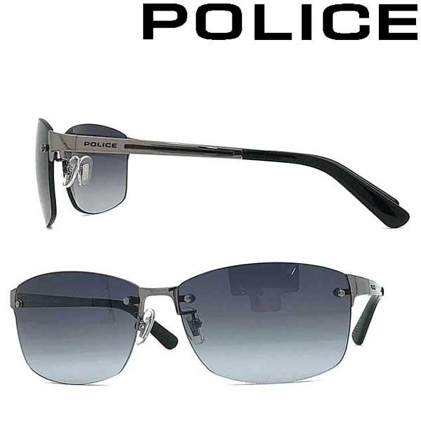 POLICE サングラス ポリス メンズ&レディース グレーグラデーション POLICE-SPLA63J-568S ブランド