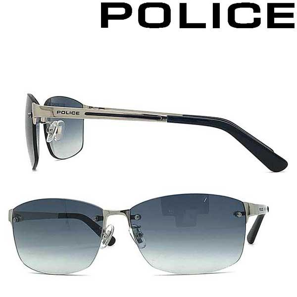 POLICE サングラス ポリス メンズ&レディース ネイビーグラデーション POLICE-SPLA63J-579L ブランド