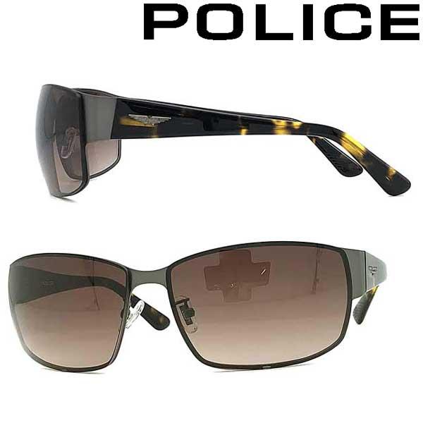 POLICE サングラス ポリス メンズ&レディース ブラウングラデーション POLICE-SPLA65J-0627 ブランド