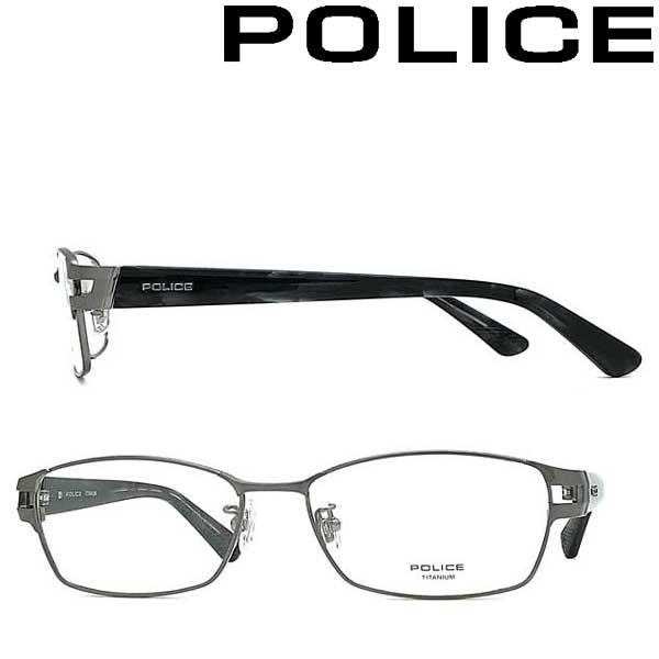 POLICE メガネフレーム ポリス メンズ&レディース シャーリンググレー 眼鏡 POLICE-VPLA99J-0SLD ブランド